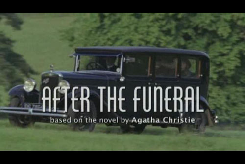 After the Funeral / Agatha Christie's Poirot #56