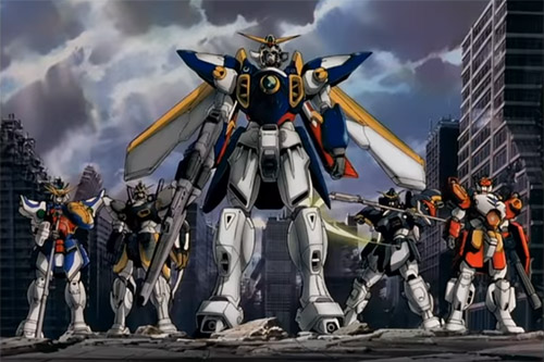 NEW MOBILE REPORT GUNDAM WING [TV-Series: 1995/4/7 - 1996/3/29]