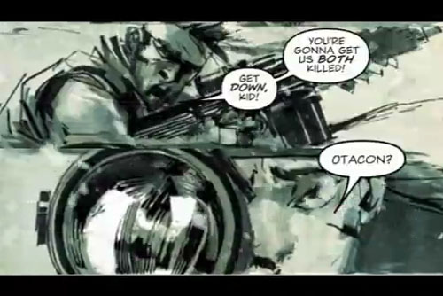 METAL GEAR SOLID BANDE DESSINEE