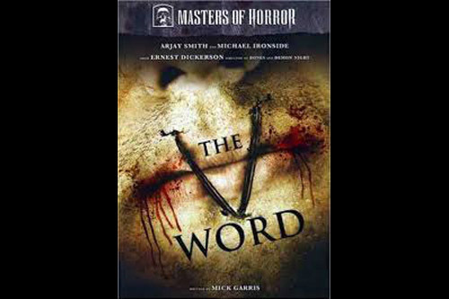The V Word / Masters of Horror