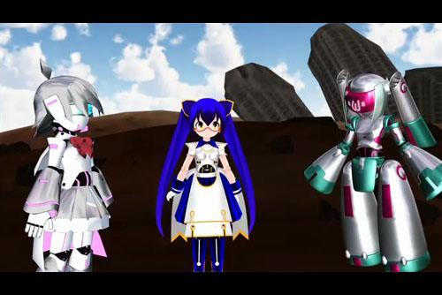 Straight Title Robot Anime | Chokkyuu Hyoudai Robot Anime