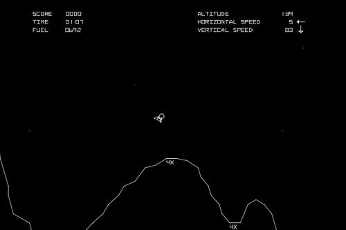 ルナーランダー / Lunar Lander (AC)