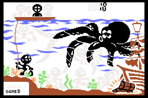 GAME&WATCH: OCTOPUS