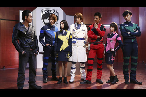 Space Squad: Gavan vs. Dekaranger