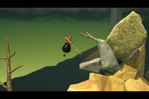 Getting Over It with Bennett Foddy (PC)