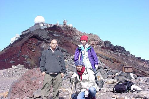 富士登山(山頂)