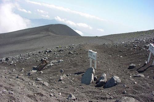 富士登山(御殿場口・下り)