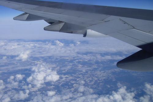 成田空港から13時間