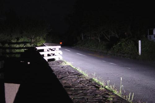 金時山ハイキング(夜)