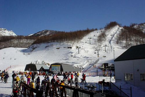 川場スキー場 - 本番
