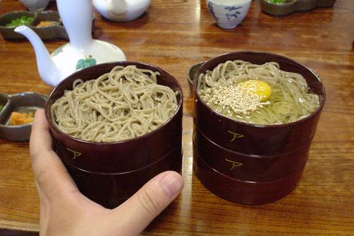 荒木屋 / 割子(わりご)そばを食す