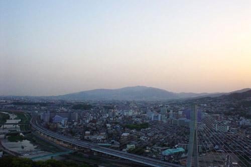 五月山公園の夜景 / 大阪唯一の夜景展望台