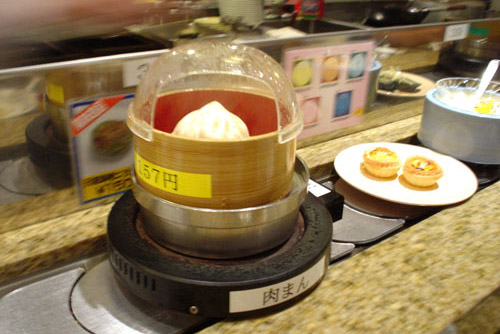 台場小香港の回転飲茶