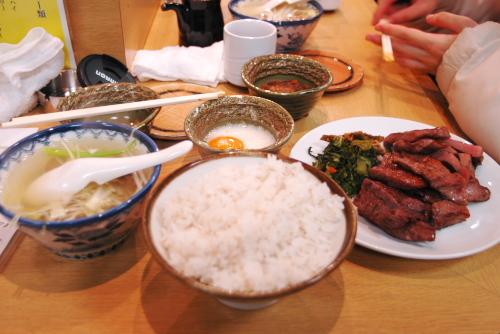 牛タンめぐり(2)利久・本町店