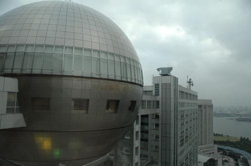 フジテレビ本社ビル / 球体展望室からの眺め