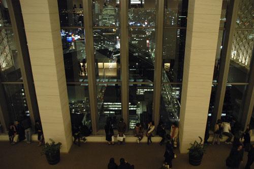 丸ビルの夜景 / 意外な穴場