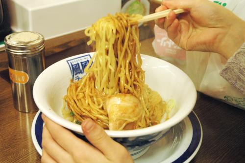 風風ラーメン・朝霞店 / 油(あぶら)そばを食す