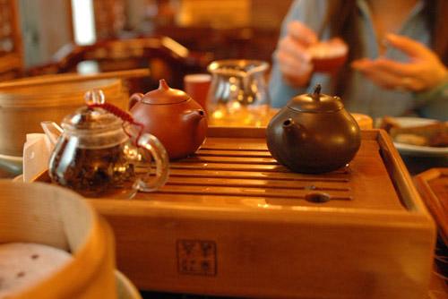華泰茶荘 / 雨の日の中国茶