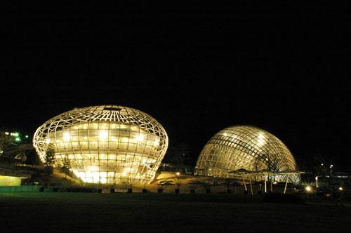 笛吹川フルーツ公園 / パノラマ夜景