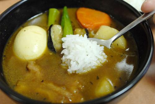 CoCo壱番屋 新宿駅西口店 / 模範的なスープカレー