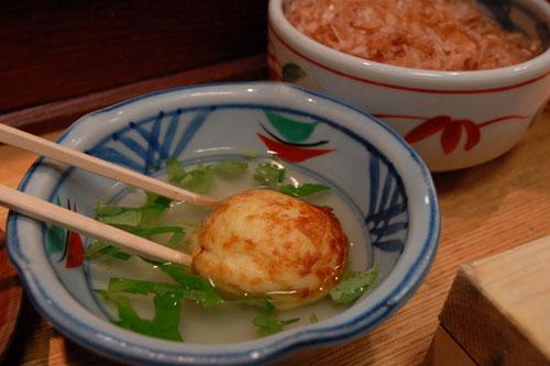 たこ料理専門店 くくる / 半夏生→蛸→たこ焼き