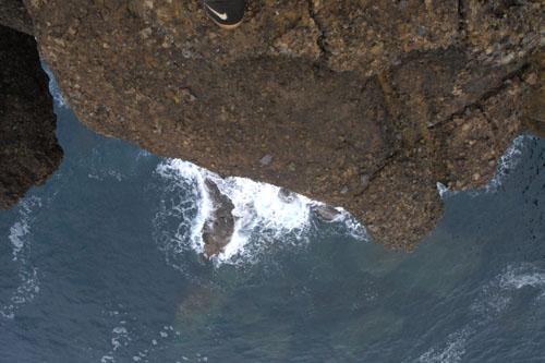 ヤセの断崖 / 自殺の名所と言うが、かなり怖い