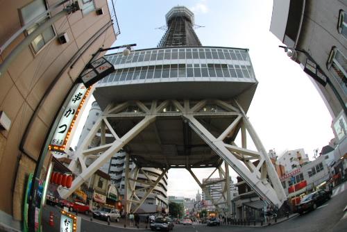 通天閣 / 天に通じる広告塔