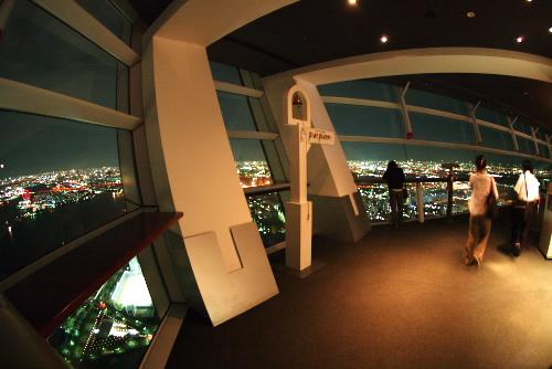 WTCコスモタワーの夜景