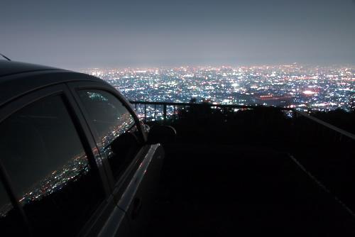 生駒スカイラインの夜景