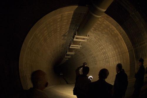 神田川取水施設 / 都市型洪水を防ぐ地下の備え
