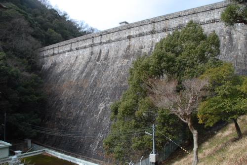 布引五本松ダム / 日本最古のコンクリートダム
