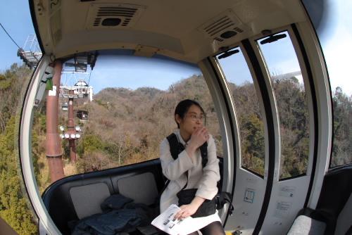 神戸夢風船 / 山と街と海を眺める