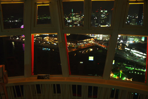 神戸ポートタワー / 神戸港の夜景