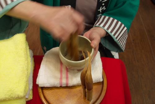 いきいき富山館 / バタバタ茶を試す