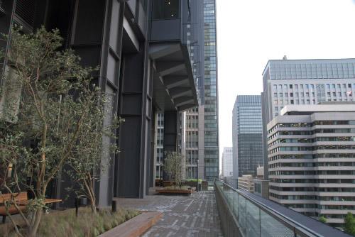 新丸ビル / 7階テラスは最高♪