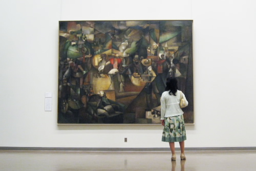 国立西洋美術館 / 静かで、荘厳な雰囲気