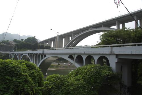 新旧の小倉橋 / ドライブ中の発見
