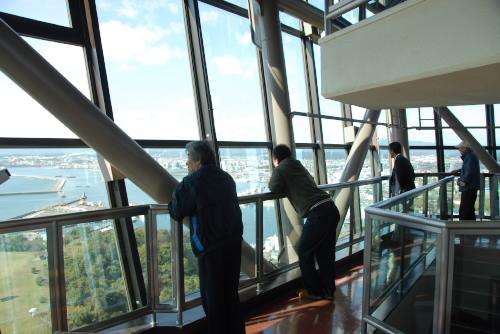 三崎公園 / いわきマリンタワーと潮見台