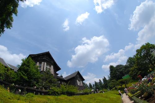 旧古河庭園 / 和洋調和の邸内