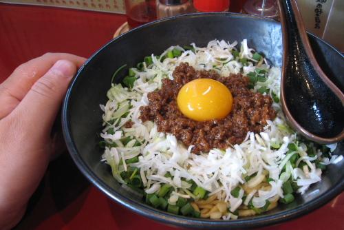 麻布麺房どらいち / テレビで見た汁なし担々麺