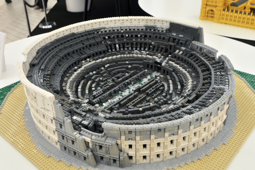浦和パルコ レゴで作った世界遺産展 / デフォルメの才能に感動する