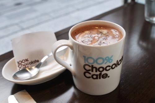 100%チョコレートカフェ / 欲求の行方