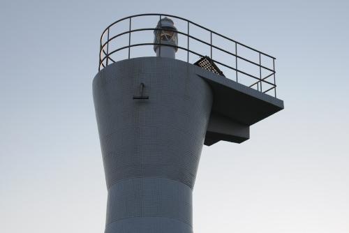 館山港沖島灯台 / 小さな沖ノ島の、小さな灯台