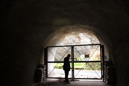 赤山地下壕 / 1時間の地中滞在