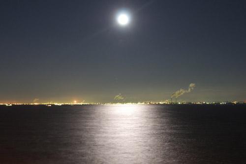 海ほたる / 冬の夜景撮影