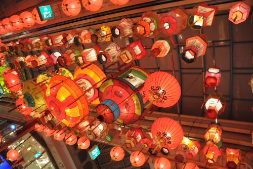 長崎新地中華街 / ランタンフェスティバルの夜