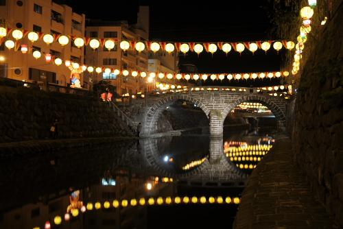 長崎・眼鏡橋 / 日本最古のアーチ型石橋