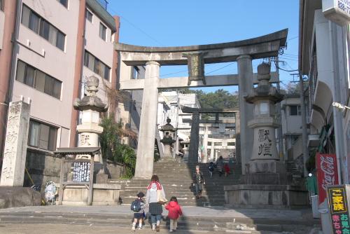 諏訪神社 / 子どもの教育によいところ