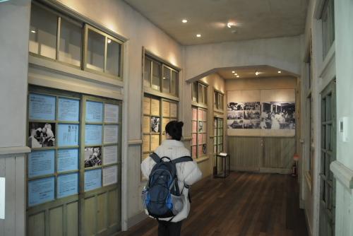 長崎市立図書館・救護所メモリアル / 痛々しい記憶