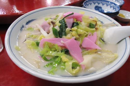 王鶴 / ちゃんぽん3食目